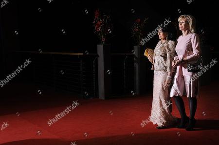 Regine Sixt and Claudia Huebner