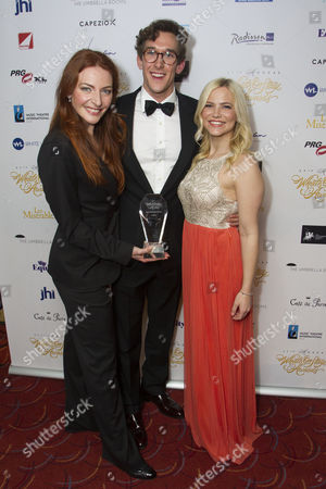 Editorial image of WhatsOnStage Awards Concert Awards, London, UK - 19 Feb 2017