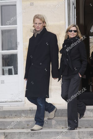 Arnaud Lemaire and Claire Chazal