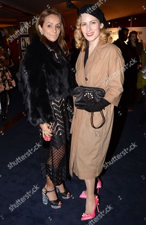 Stock Image of Bonnie Takhar and Charlotte Dellal