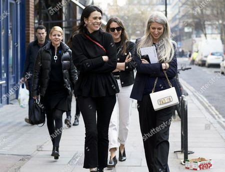 Vogue Crew Emily Sheffield, Sarah Harris, Jamie Perlman