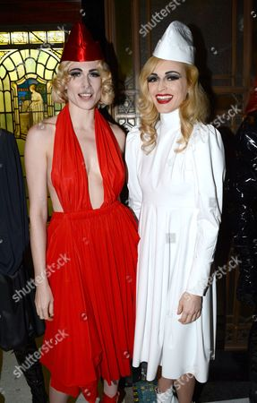 Stock Image of Fearne Cotton and Tuuli Shipster in the Front Row