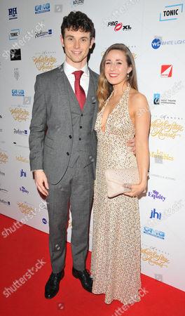 Charlie Stemp and Devon-Elise Johnson