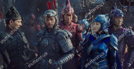 Andy Lau, Hanyu Zhang, Kenny Lin, Jing Tian, Xuan Huang