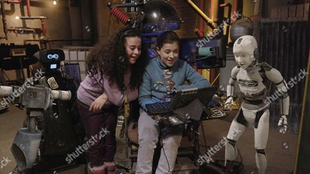 """Editorial image of """"Annedroids"""" TV series - 2016"""