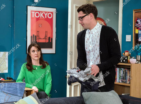Emma Barton's, as played by Gillian Kearny, worried about Finn Barton's, as played by Joe Gill, motivations for going to Australia will she try and stop him? (Ep 7767 - Wed 8 Mar 2017)