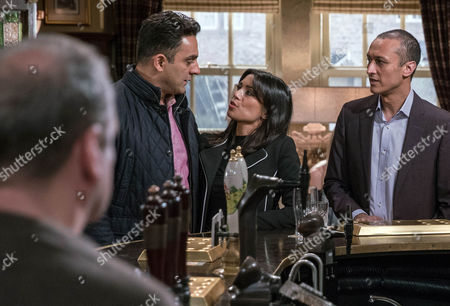 Priya Kotecha, as played by Fiona Wade, and Rakesh Kotecha, as played by Pasha Bocarie, broadcast their renewed relationship by having a drink together, leaving Rishi surprised. But how will Nicola King, as played by Nicola Wheeler, take the news? (Ep 7759 - Mon 27 Feb 2017)