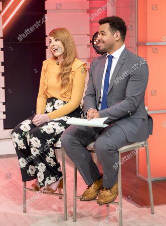 Editorial photo of 'Good Morning Britain' TV show, London, UK - 20 Feb 2017