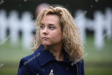 Charlotte Pence, daughter of United States Vice President Mike Pence, visits the Flanders Field American Cemetery and Memorial in Waregem, Belgium on . The cemetery is the smallest of the eight permanent American cemeteries in Europe that commemorate the dead of the First World War