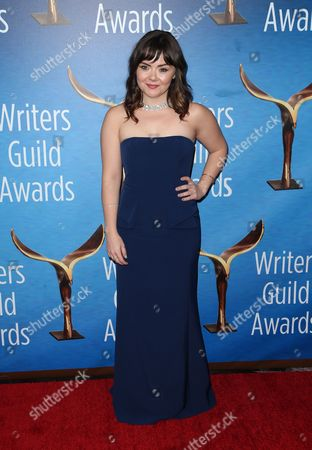 Editorial photo of Writers Guild Awards, Arrivals, Los Angeles, USA - 19 Feb 2017