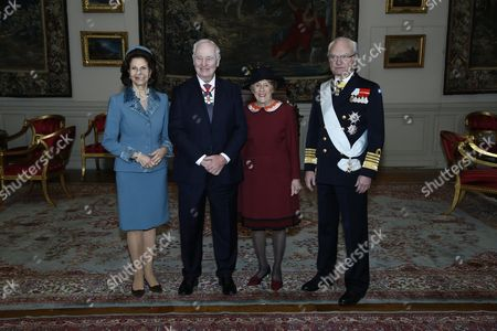 Editorial photo of Governor General of Canada visit to Sweden - 20 Feb 2017