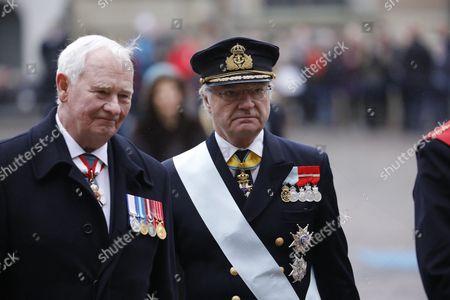 David Lloyd Johnston, King Carl Gustaf