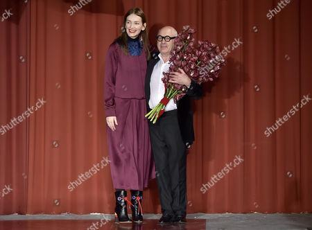 Roksanda Ilincic and Michael Nyman