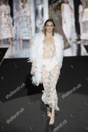 Editorial image of Duyos show, Runway, Mercedez Benz Fashion Week, Madrid, Spain - 20 Feb 2017