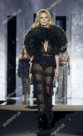 Veronica Blume on the catwalk