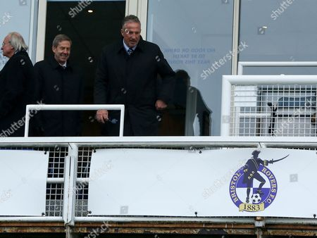 Vice President Sir Ian Botham ahead of Scunthorpe's away match at Bristol Rovers