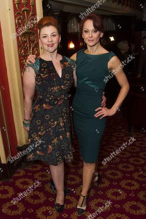 Sophie-Louise Dann (Celia) and Jenny Gayner (Miss Wilson)