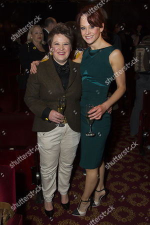 Claire Machin (Cora) and Jenny Gayner (Miss Wilson)