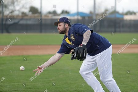 Editorial image of Brewers Spring Baseball, Phoenix, USA - 20 Feb 2017