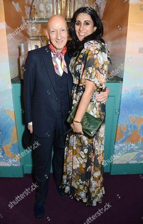 Stephen Jones and Serena Rees