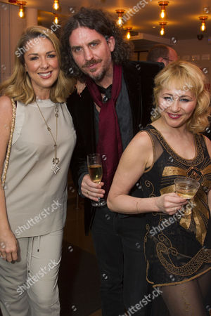 Stock Photo of Claire Sweeney, Murray Lachlan Young and Frances Ruffelle (Queenie)