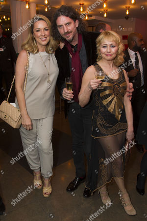 Claire Sweeney, Murray Lachlan Young and Frances Ruffelle (Queenie)