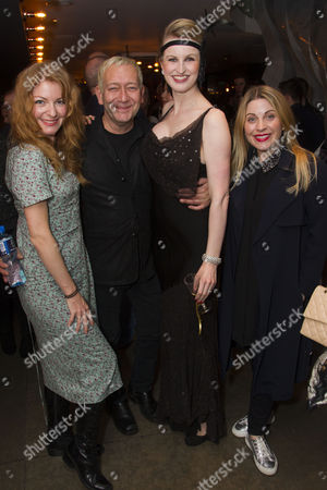 Laura Pitt-Pulford, Michael John LaChiusa (Author/Music/Lyrics), Tiffany Graves (Madelaine) and Louise Dearman