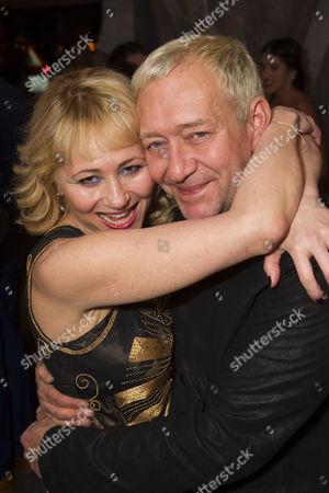 Frances Ruffelle (Queenie) and Michael John LaChiusa (Author/Music/Lyrics)