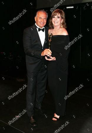 Stock Image of Andrew Ordon, Linda Gray