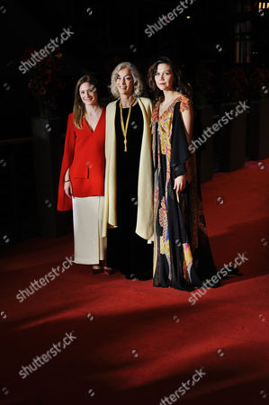 Julia Jentsch, Dora Bouchoucha Fourati and Maggie Gyllenhaal