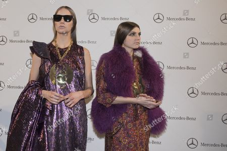 Editorial photo of Alvarno's show, Runway, Mercedez Benz Fashion Week, Madrid, Spain - 20 Feb 2017