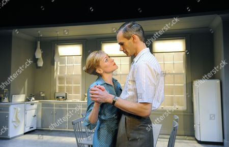 Claire Skinner (Rita Affleck) and Angus Wright (Alfred Affleck)