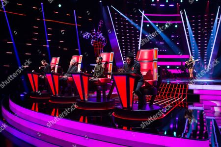 Editorial picture of 'The Voice' TV Series - 18 Feb 2017