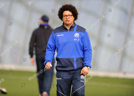 Stock Photo of Andy Boyd - Scotland strength & conditioning coach.