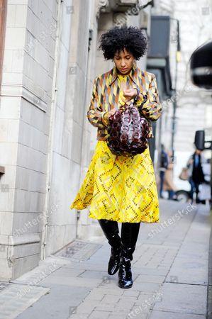 Chioma Nnadi fashion news editor for Vogue UK
