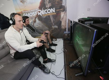 Editorial picture of Ghost Recon Wildlands War Within the Cartel livestream event, Los Angeles, USA - 16 Feb 2017