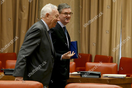 Editorial picture of EU Commissioner for Security, Julian King visits, Madrid, Spain - 21 Feb 2017