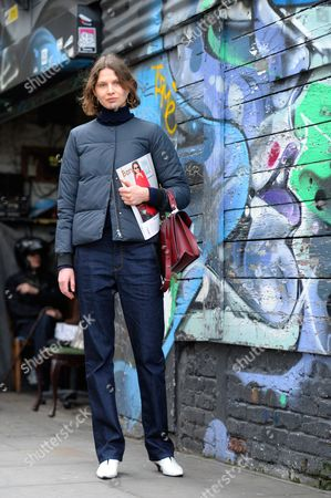 Victoria Sekrier model and stylist on Brick Lane