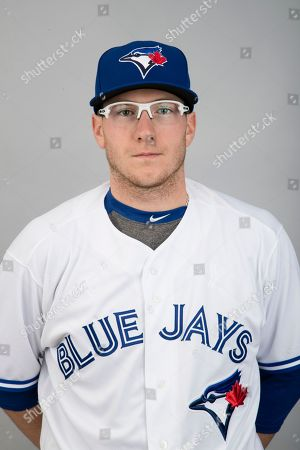 Stock Photo of This is a 2017 photo of Dan Jansen of the Toronto Blue Jays. This image represents the the Blue Jays active roster, in Dunedin, Fla