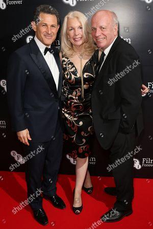 Josh Berger, Amanda Nevill and Greg Dyke
