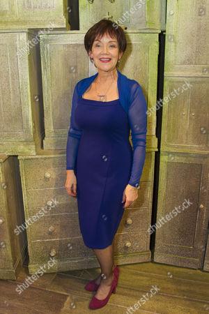 Marian McLoughlin (Marie) backstage