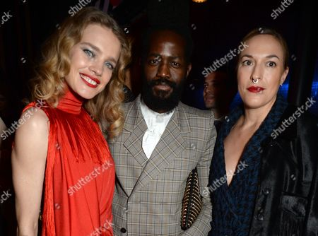 Natalia Vodianova with Roy Luwolt and Mary Alice Malone