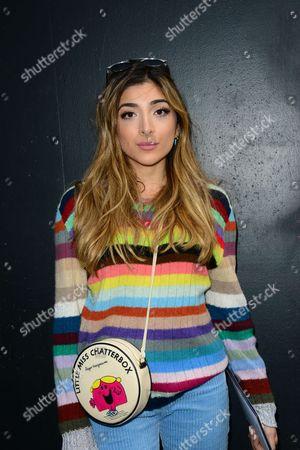 Editorial photo of Roksanda show, Arrivals, Autumn Winter 2017, London Fashion Week, UK - 20 Feb 2017