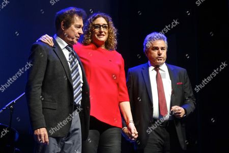 Barry Williams, Judy Gold and Christopher Knight