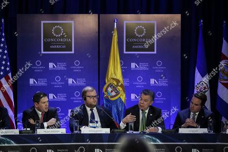 Editorial picture of Concordia Americas Summit 2017, Bogota, Colombia - 21 Feb 2017