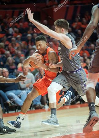 Editorial image of Illinois Northwestern basketball, Champaign, USA - 21 Feb 2017