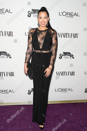 Editorial photo of Vanity Fair and L'Oreal Paris Celebrate Young Hollywood, Arrivals, USA - 21 Feb 2017