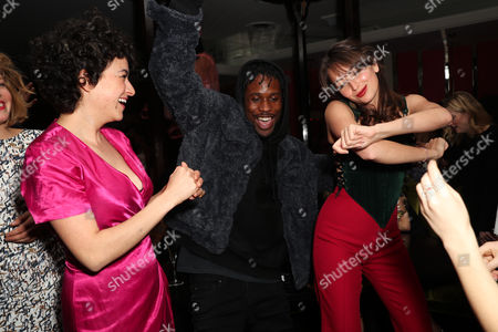 Stock Picture of Alia Shawkat Shameik Moore and Fabianne Therese