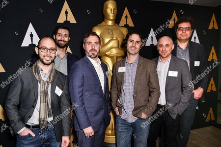 Lou Hamou-Lhadj, Andrew Coats, Patrick Osborne, Alan Barillaro, Marc Sondheimer and Theodore Usher
