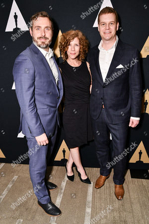 Stock Photo of Patrick Osborne, Karen Dufilho-Rosen and David Eisenmann